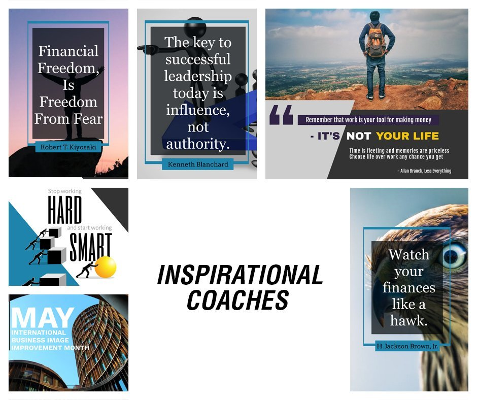 Inspirational Coaches Sneak Peak