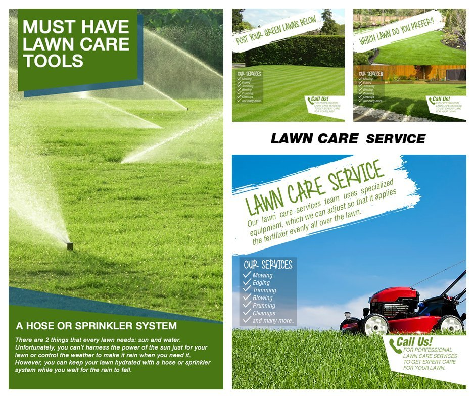 Lawn Care Service Sneak Peak
