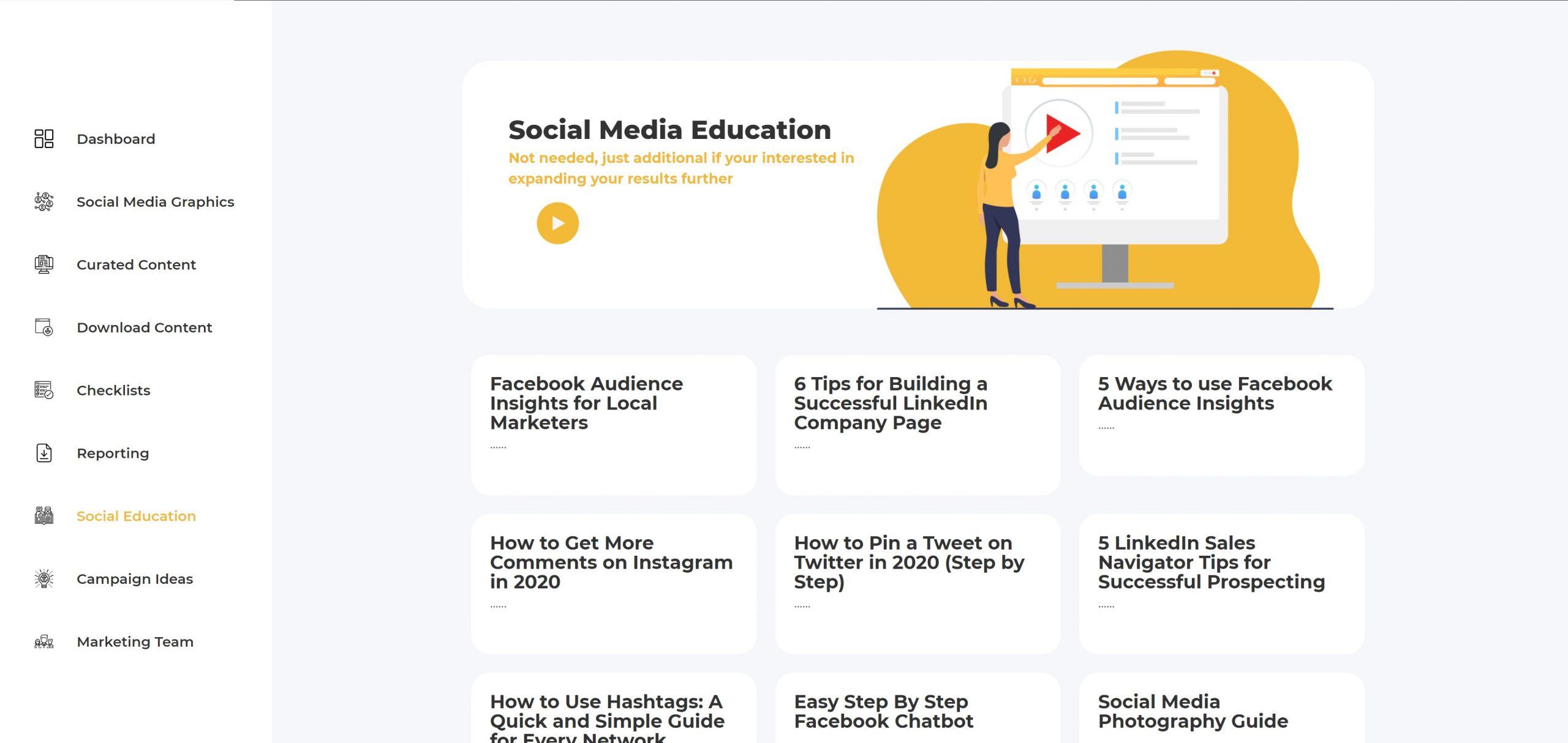 Easy social education